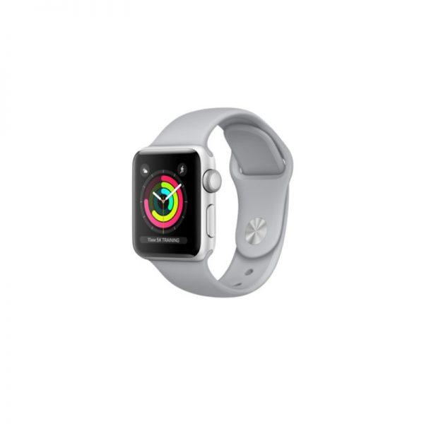 ساعت مچی هوشمند اپل مدل اسپورت جی پی اس- Apple Watch Sport Silver Aluminum Case Fog Sport Band GPS