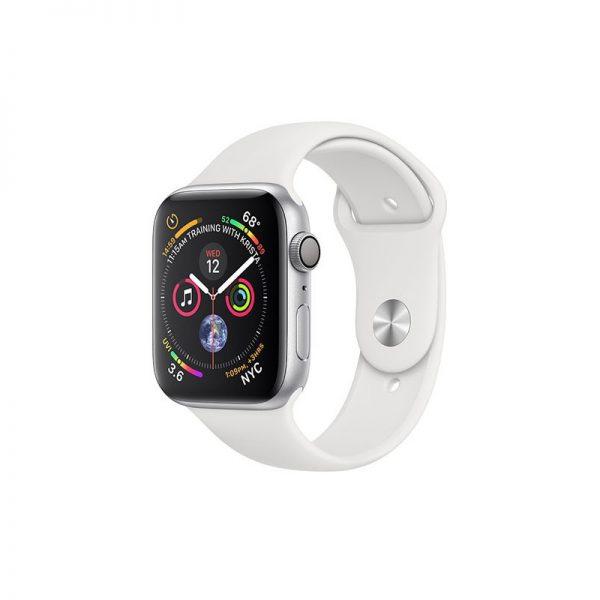 ساعت مچی هوشمند اپل مدل اسپورت - Apple Watch Silver Aluminum Case White Band