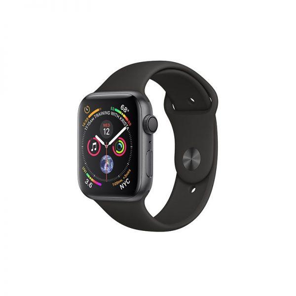 ساعت مچی هوشمند اپل مدل اسپورت - Apple Watch Gray Aluminum Case Black Band