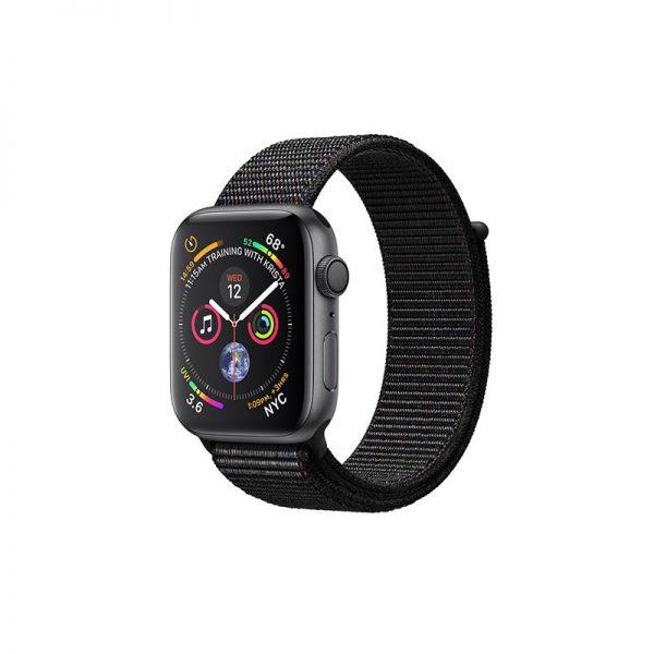ساعت مچی هوشمند اپل مدل اسپورت - Apple Watch Gray Aluminum Case Black Sport Loop Band