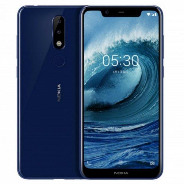 گوشی موبایل نوکیا مدل 5.1 پلاس (ایکس 5) - (Nokia 5.1 Plus (X5