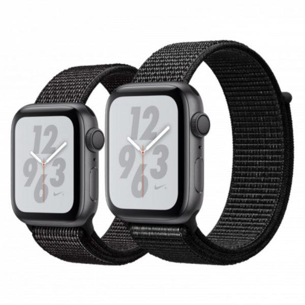 ساعت مچی هوشمند اپل مدل نایک پلاس - Apple Watch Nike+ Space Gray Aluminum Case Black Nike Sport Loop Band