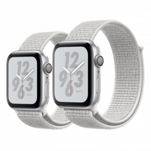 ساعت مچی هوشمند اپل مدل نایک پلاس - Apple Watch Nike+ Silver Aluminum Case Summit Nike Sport Loop Band