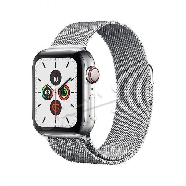اپل واچ سری 5 استیل با بند میلانس