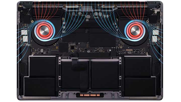 پردازنده مک بوک پرو mvvj2