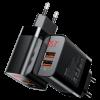 شارژر باسئوس مدل type-c/USB ال ای دی دار