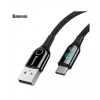 کابل تبدیل USB به USB-C باسئوس مدل C-shaped یک متری