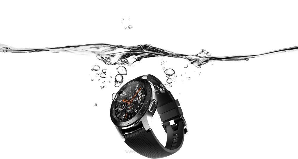 ساعت هوشمند سامسونگ مقاوم در برابر آب