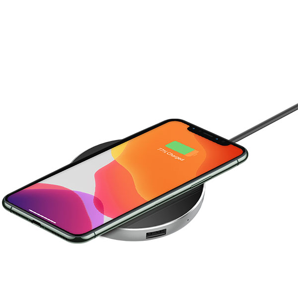 Hub with Wireless charger