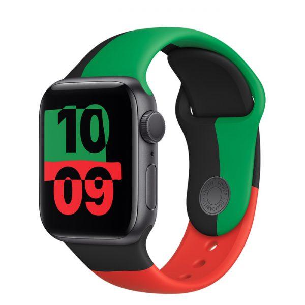 اپل واچ سری ۶ بلک یونیتی ۱
