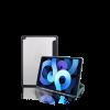 کاور سیلیکونی آیپد ۱۰.۲ اینچ (۲۰۲۰/2019) DuraPro Lite جی سی پال مدل JCP5373