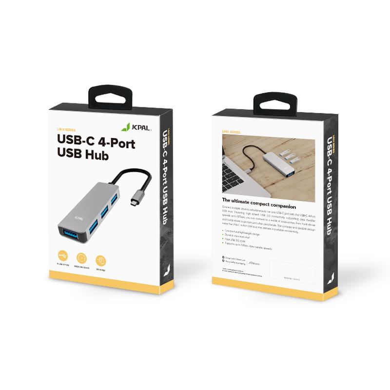 هاب 4 پورت USB-C جی سی پال