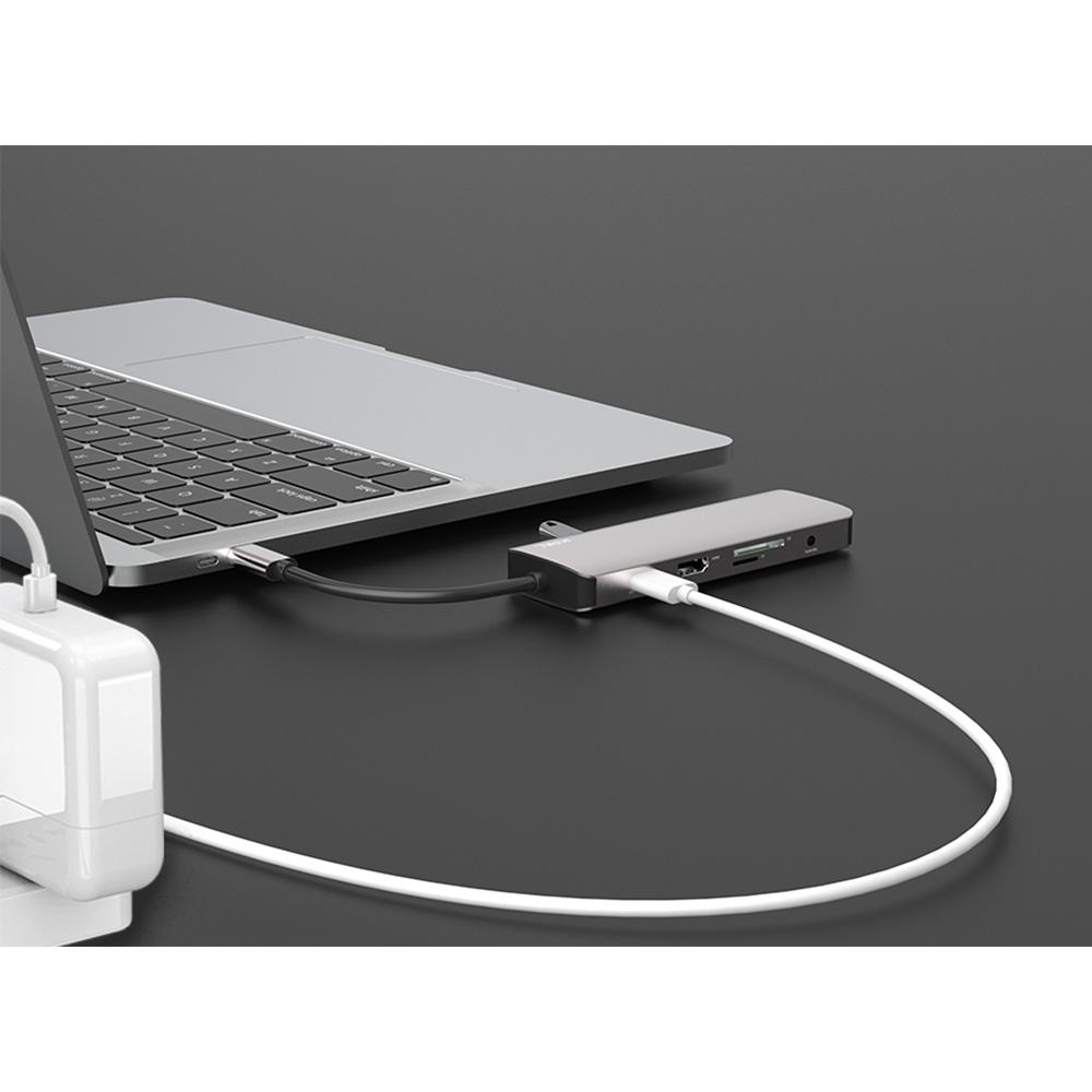 هاب 9 پورت USB-C جی سی پال